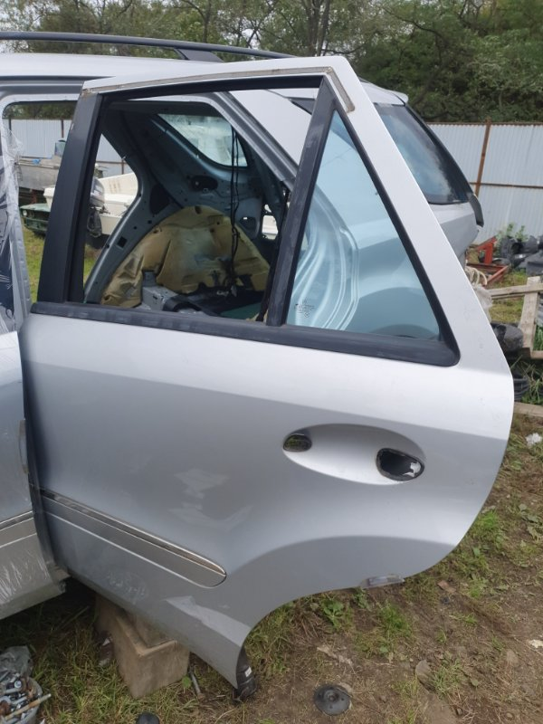 Дверь Mercedes Benz 164.186 Ml350 4Matic W164.186 M272E35 2006 задняя левая