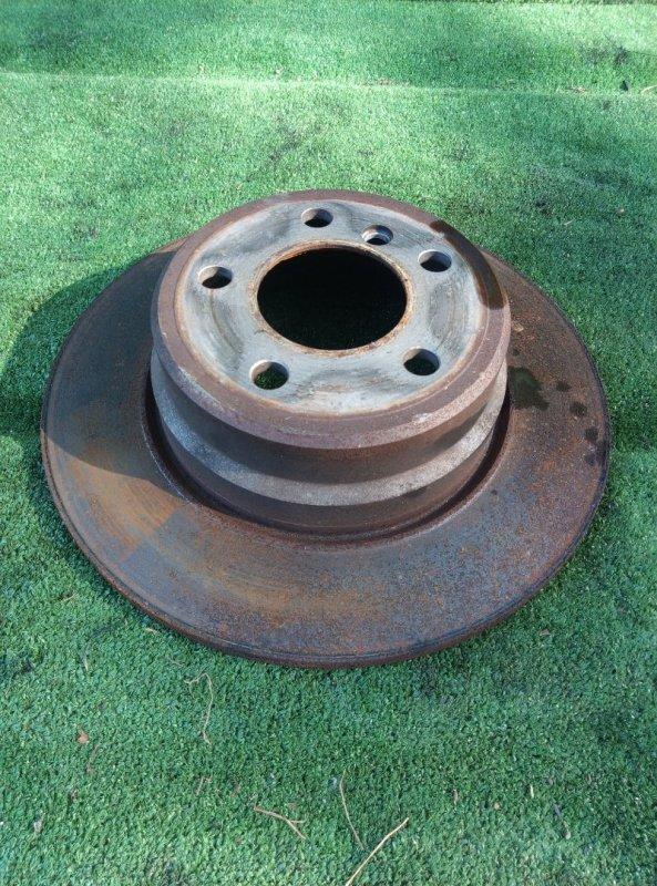 Тормозной диск Bmw X5 E53 M54B30 2005 задний левый