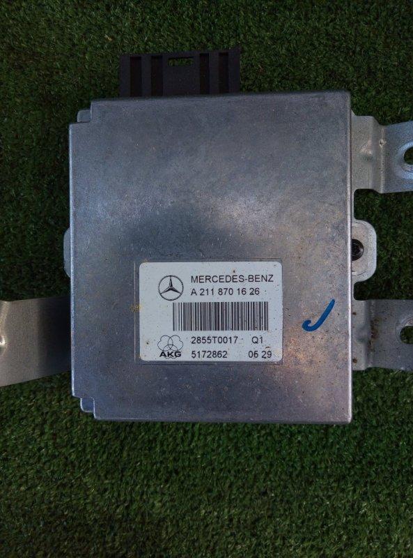 Блок управления телефоном Mercedes Benz Mercedes Benz M Class Ml500 W164.175 113.964 30 702635 2005