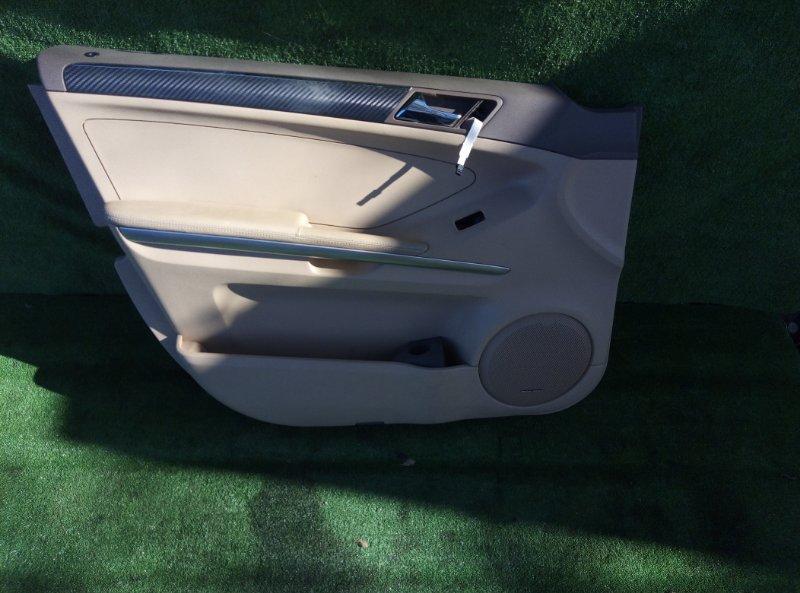 Обшивка двери Mercedes Benz Mercedes Benz M Class Ml500 W164.175 113.964 30 702635 2005 передняя левая