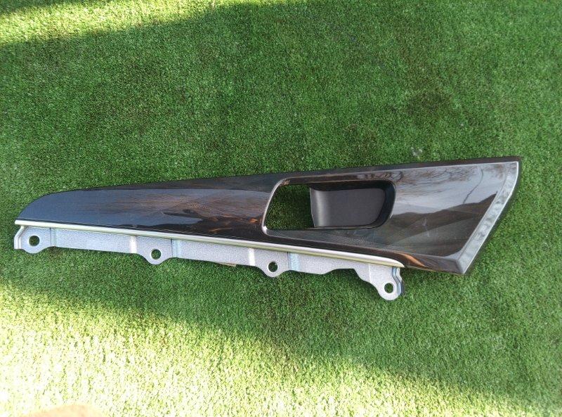 Накладка на дверь Toyota Crown GRS210-AETXH 4GRFSE 2500CC 24-VALVE DOHC EFI 12.2012 передняя левая