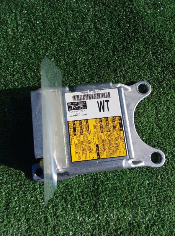 Блок управления airbag Toyota Crown GRS210-AETXH 4GRFSE 2500CC 24-VALVE DOHC EFI 12.2012