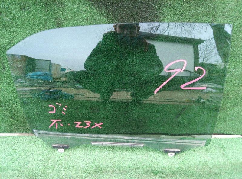 Стекло двери Toyota Crown AWS210 2ARFSE 2013 заднее правое