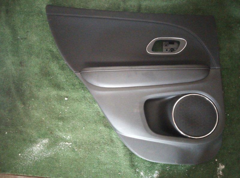 Обшивка двери Honda Vezel RU3 LEB 2014 задняя левая