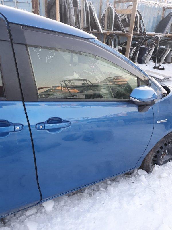 Дверь Toyota Sienta NHP170- 1NZFXE 2017 передняя правая
