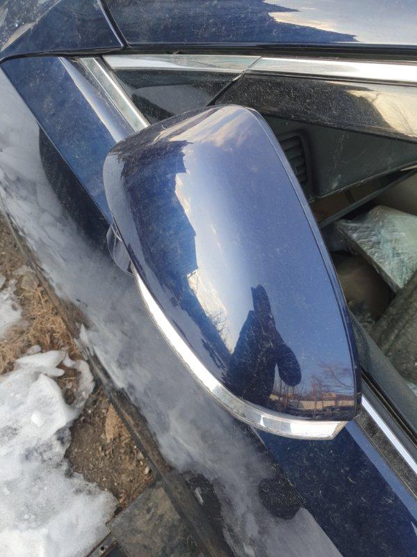 Зеркало Toyota Crown AWS210 2ARFSE 2016 левое