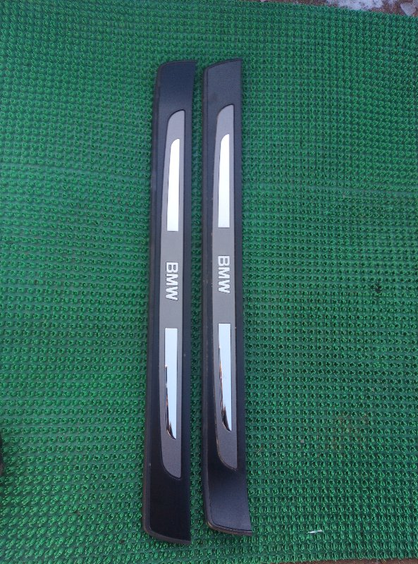 Порожек пластиковый Bmw 7-Series E65 N62B44A 2004 передний