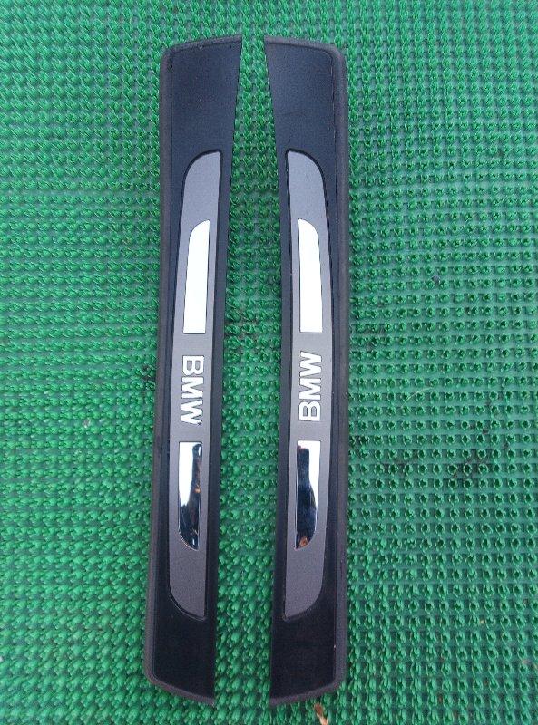 Порожек пластиковый Bmw 7-Series E65 N62B44A 2004 задний