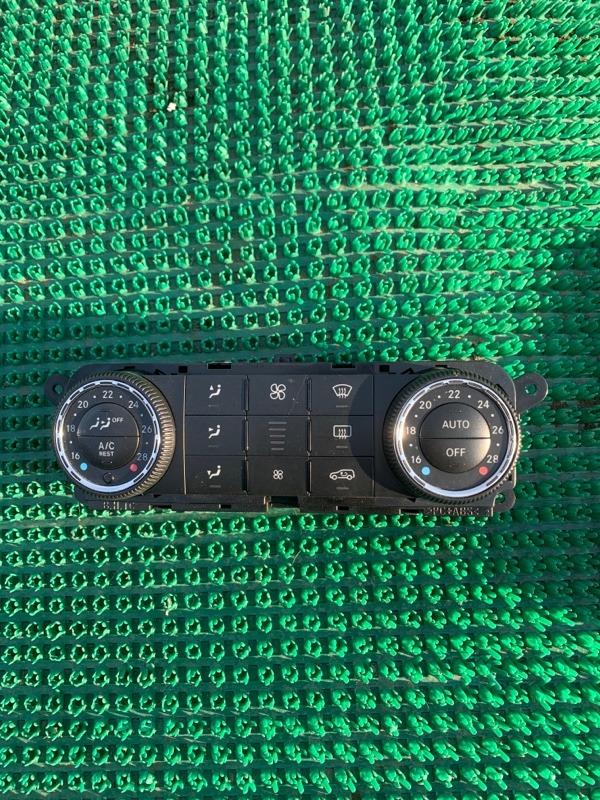 Блок управления климат-контролем Mercedes Benz 164.186 Ml350 4Matic W164.186 M272E35 2005