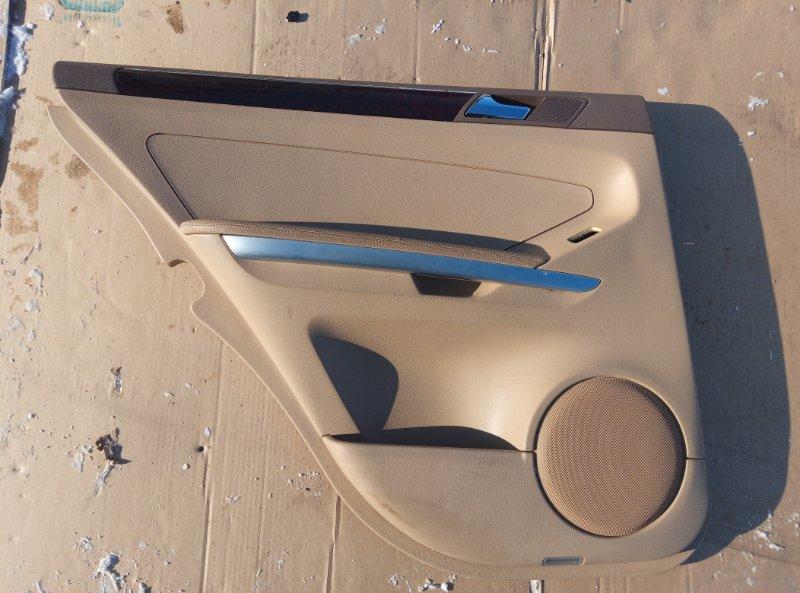 Обшивка двери Mercedes Benz 164.186 Ml 350 4Matic W164.186 M272E35 2007 задняя левая