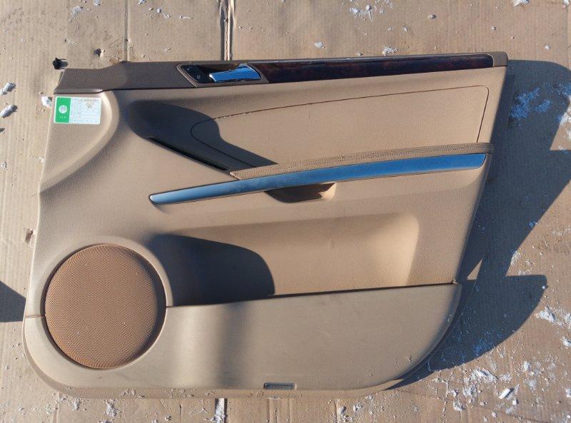 Обшивка двери Mercedes Benz 164.186 Ml 350 4Matic W164.186 M272E35 2007 передняя правая