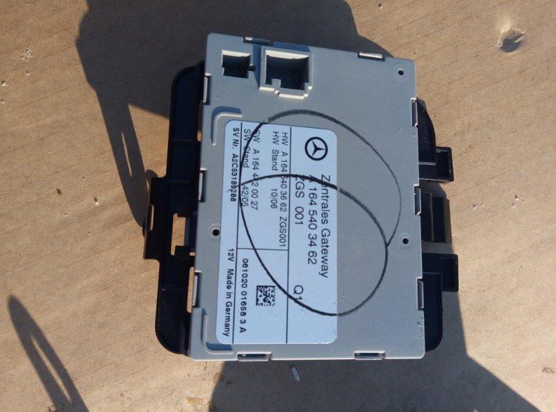 Блок управления zgs Mercedes Benz 164.186 Ml 350 4Matic W164.186 M272E35 2007