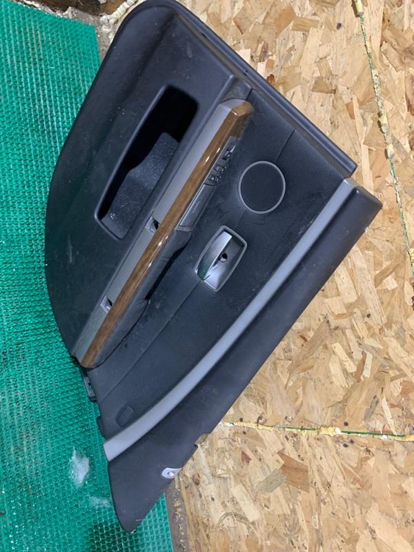 Обшивка двери Bmw 7-Series E65 N62B44A 2004 задняя правая