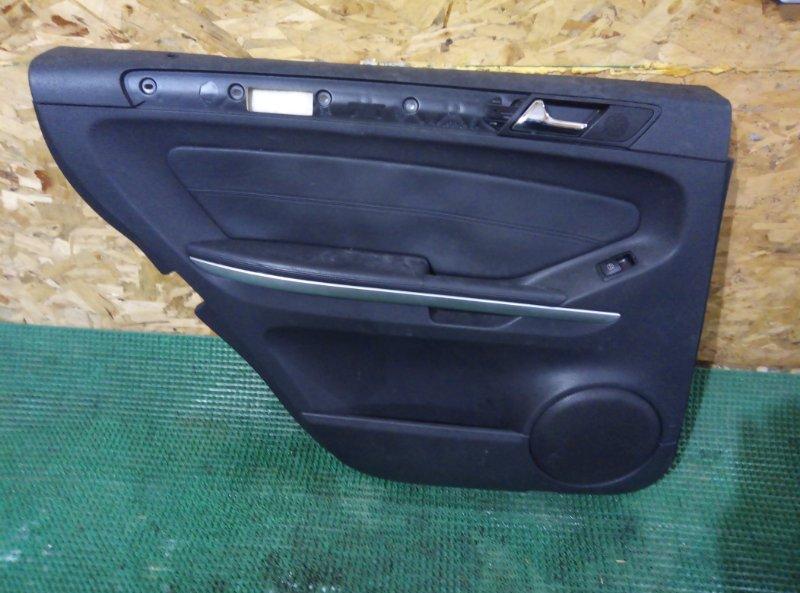 Обшивка двери Mercedes Benz Gl-Class X164886 M273E55 2007 задняя левая