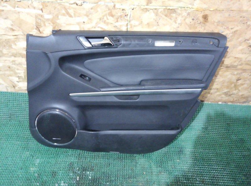 Обшивка двери Mercedes Benz Gl-Class X164886 M273E55 2007 передняя правая