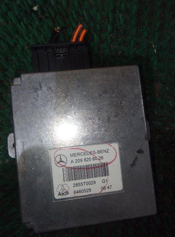 Блок управления телефоном Mercedes Benz Gl-Class X164886 M273E55 2007