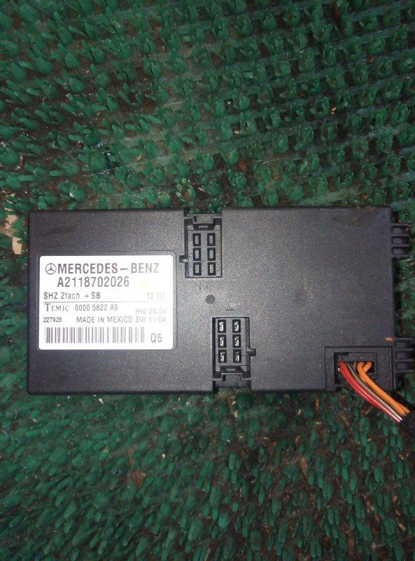 Блок подогрева сидения Mercedes Benz Gl-Class X164886 M273E55 2007