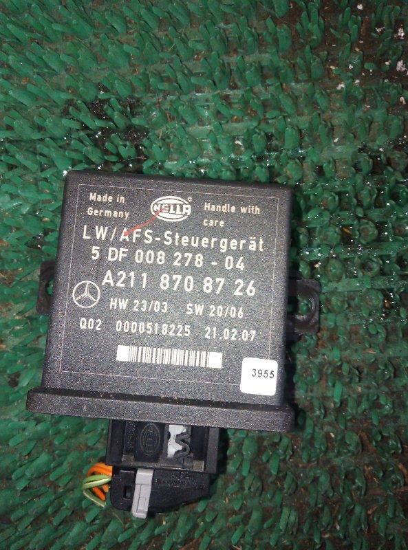 Блок управления наклона фар Mercedes Benz Gl-Class X164886 M273E55 2007