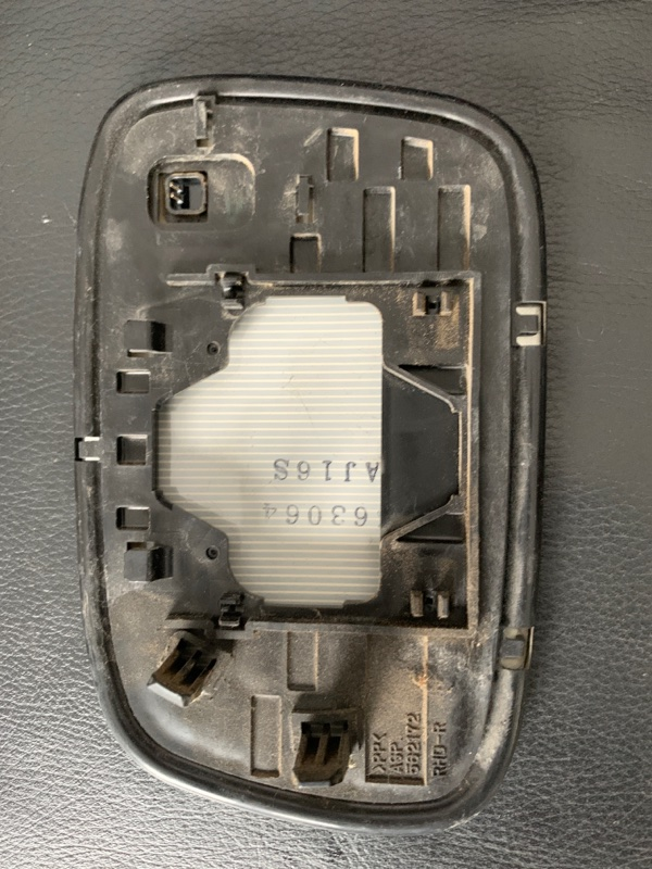 Полотно зеркала Toyota Windom MCV30 1MZ-FE 2003