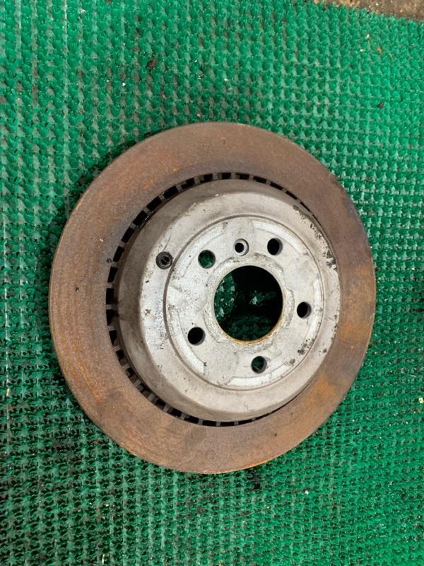 Тормозной диск Mercedes Benz Gl-Class X164886 M273E55 2007 задний правый