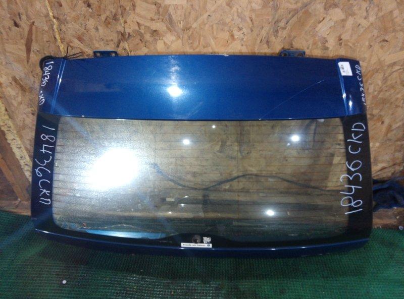 Крышка багажника Bmw X5 E53 N62B44 2000 задняя