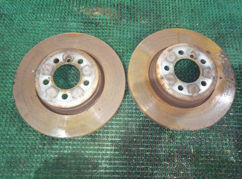 Тормозной диск Bmw 7-Series E65 N62B44A 2004 задний