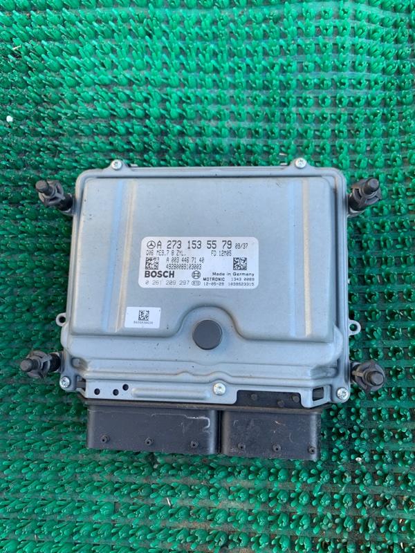 Блок управления двс Mercedes Benz Gl-Class X164886 M273E55 2006