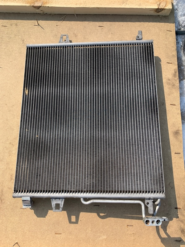 Радиатор кондиционера Mercedes Benz 164.186 Ml350 4Matic W164.186 M272E35 2005