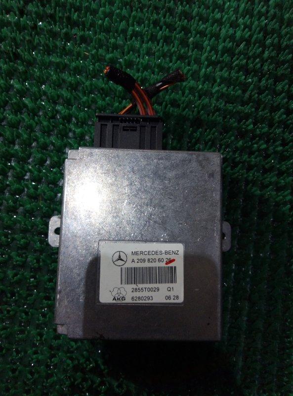 Блок управления громкой связью Mercedes Benz Gl-Class X164886 M273E55 2006