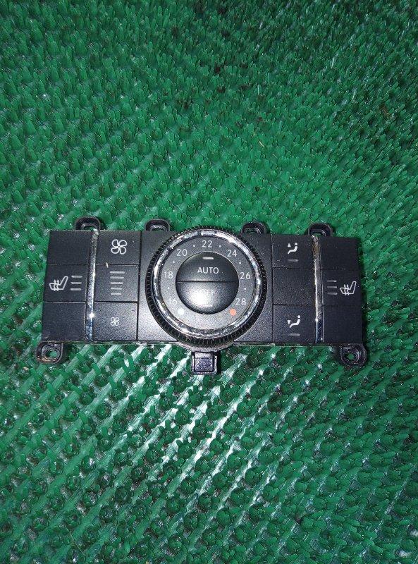 Блок управления климат-контролем Mercedes Benz Gl-Class X164886 M273E55 2006 задний