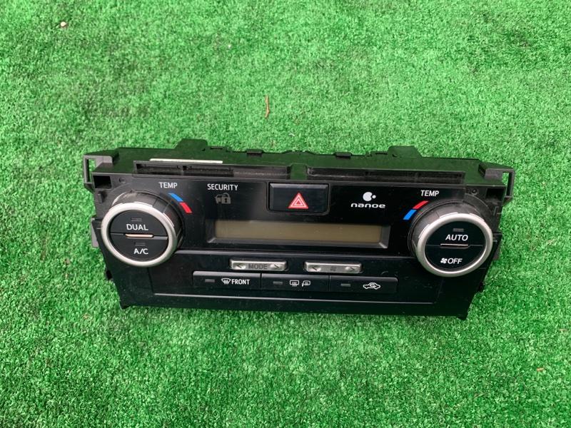 Блок управления климат-контролем Toyota Camry 50 2ARFXE 2013