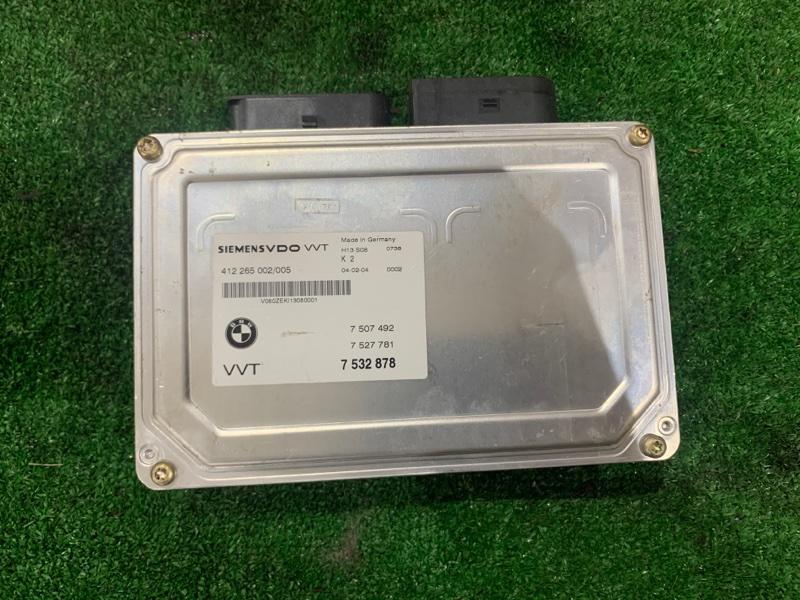 Блок управления вольвотроника Bmw 7-Series E65 N62B44A 2004