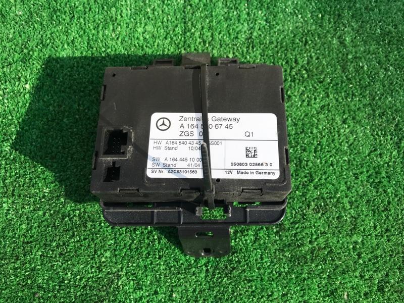 Блок управления zgs Mercedes Benz 164.186 Ml350 4Matic W164.186 M272E35 2005