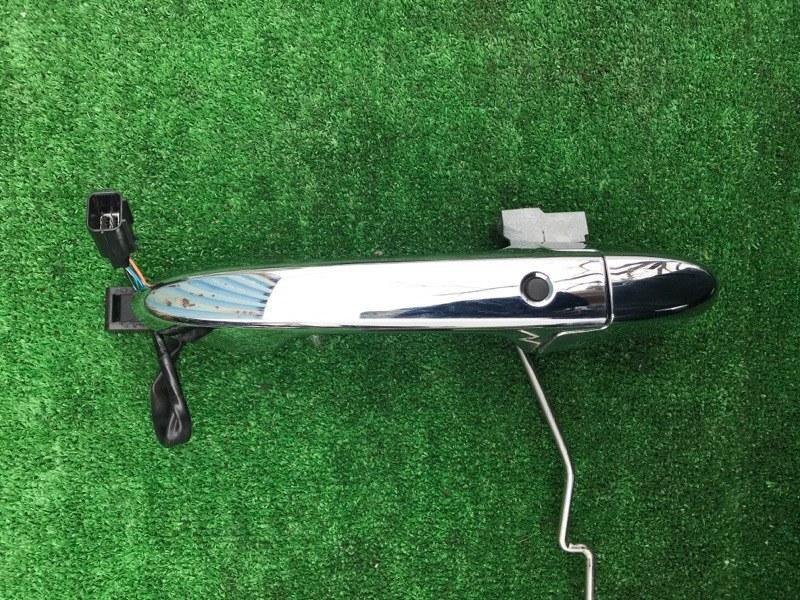 Ручка двери внешняя Honda Vezel RU1 L15B 2014 передняя левая