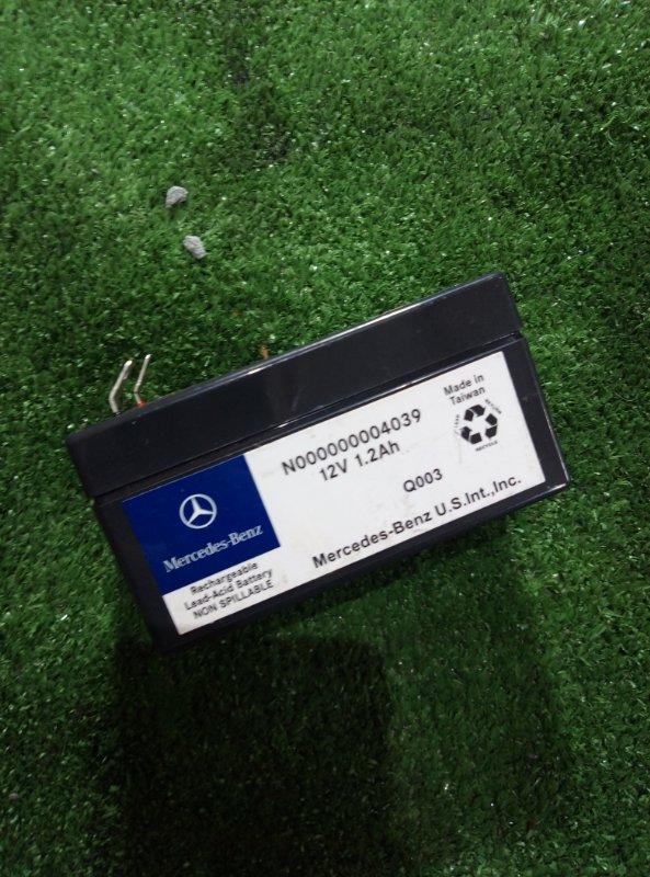 Аккумулятор Mercedes Benz 164.186 Ml350 4Matic W164.186 M272E35 2005