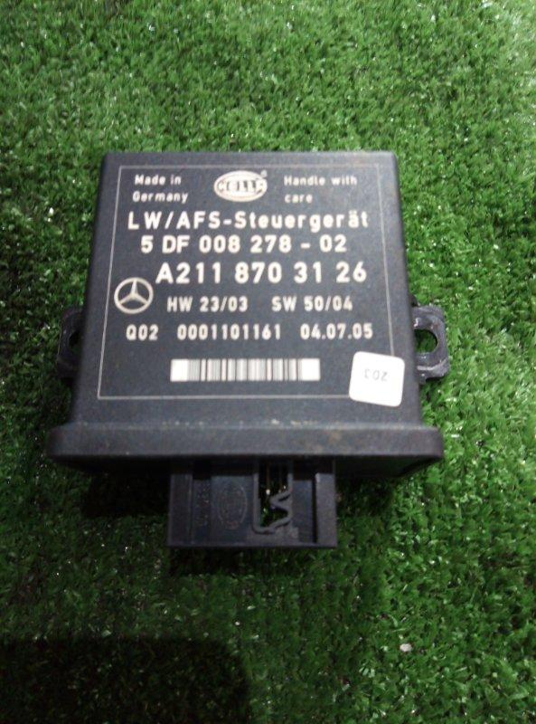 Блок управления наклона фар Mercedes Benz 164.186 Ml350 4Matic W164.186 M272E35 2005
