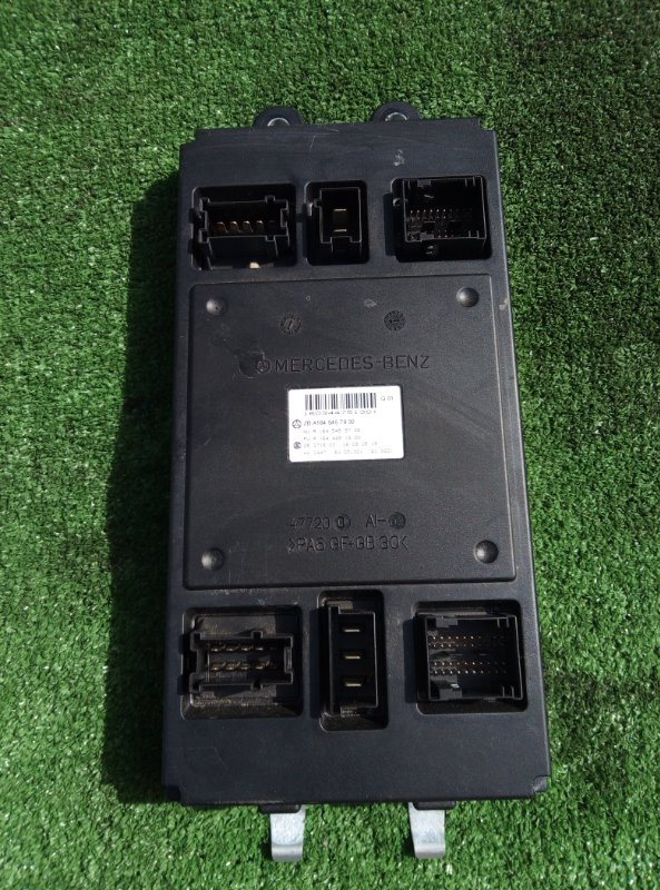 Блок управления sam Mercedes Benz 164.186 Ml350 4Matic W164.186 M272E35 2005 передний
