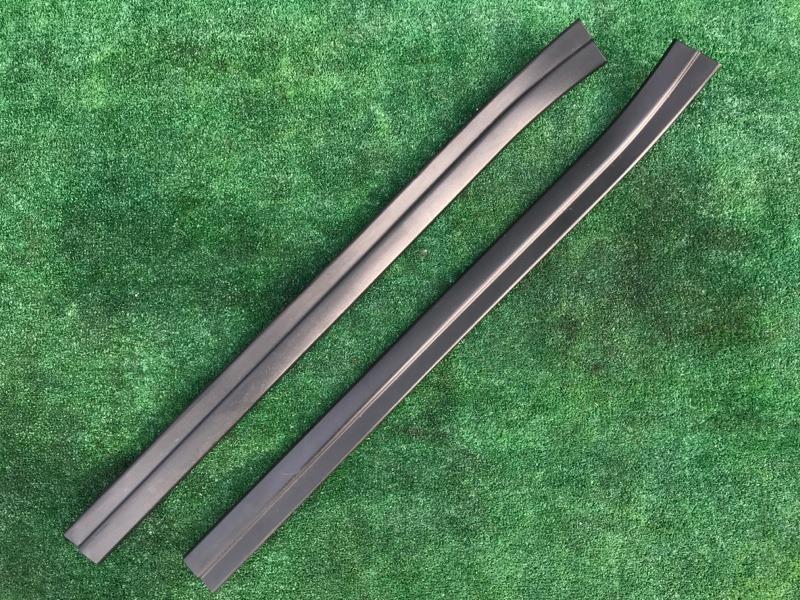 Накладка на порог Bmw X5 E53 M54B30 2005 передняя