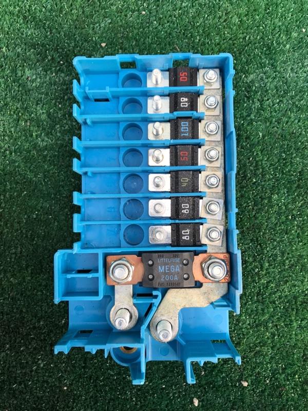 Блок предохранителей Bmw X5 E53 M54B30 2005
