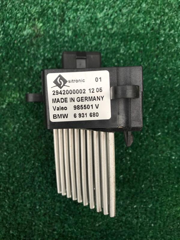 Реостат печки Bmw X5 E53 M54B30 2005