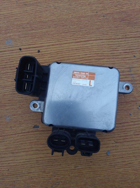Блок управления вентилятором радиатора Toyota Crown AWS210 2ARFSE 2013