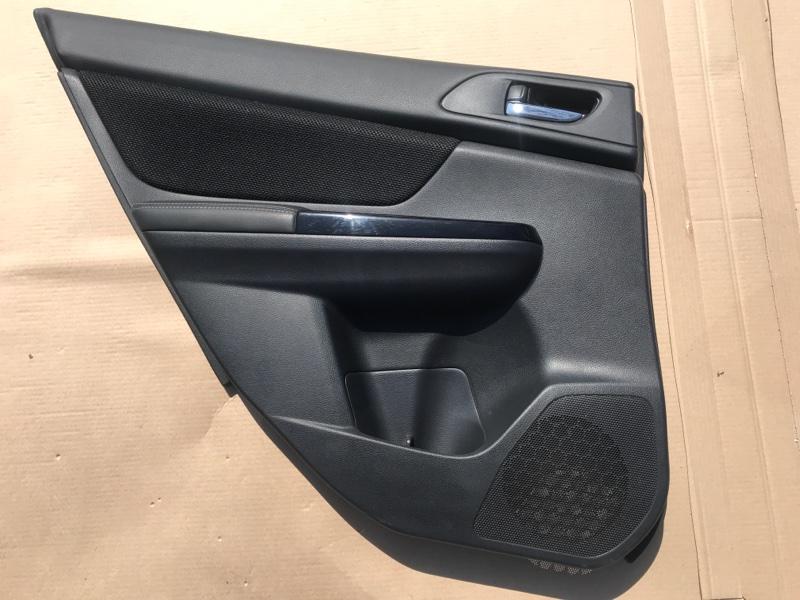 Обшивка двери Subaru Xv Hibrid GPE 2016 2016 задняя левая
