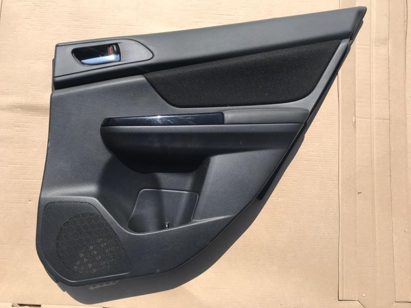 Обшивка двери Subaru Xv Hibrid GPE 2016 2016 задняя правая