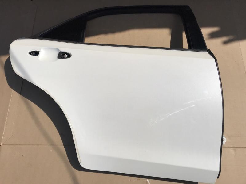 Дверь Toyota Crown AWS210 2ARFSE 2013 задняя правая