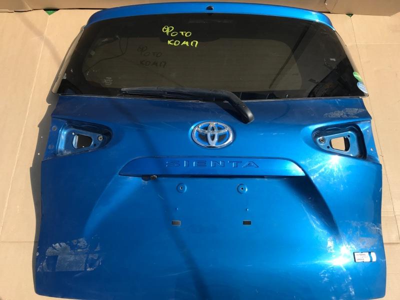 Крышка багажника Toyota Sienta NHP170- 1NZFXE 2017