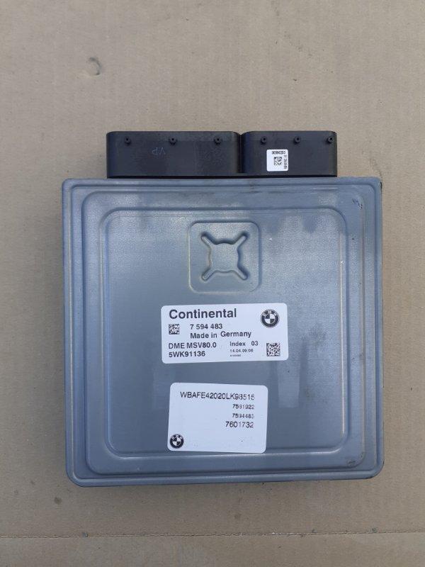 Блок управления двигателем Bmw X5 E70 N52B30 2009