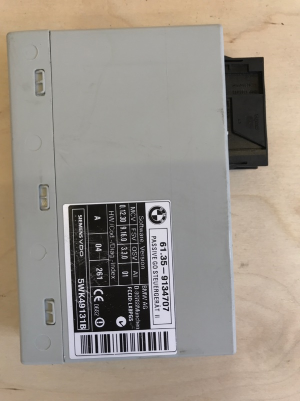 Блок управления , иммобилайзер Bmw X5 E70 N52B30 2009