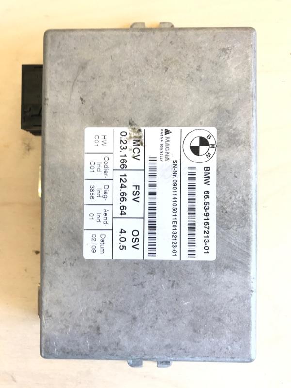 Блок управления камерой Bmw X5 E70 N52B30 2009