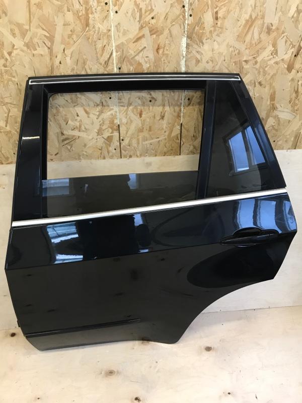 Дверь Bmw X5 E70 N52B30 2009 задняя левая