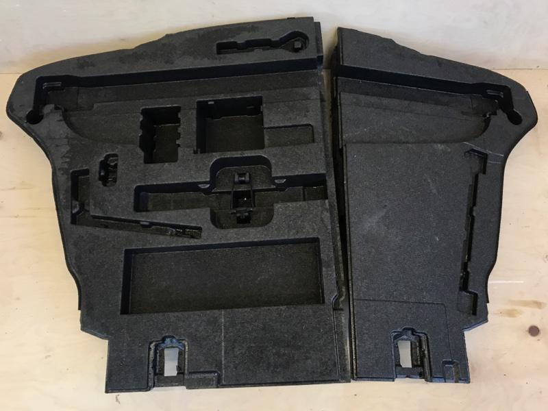 Обшивка багажника Toyota Prius ZVW51 2ZR-FXE